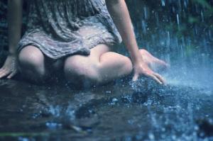 rain heals